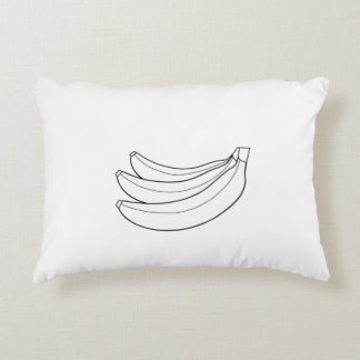 Tema de los plátanos de la almohada cojín decorativo