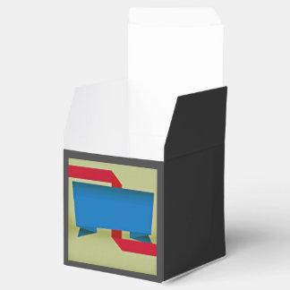 Tema de papel cajas para regalos