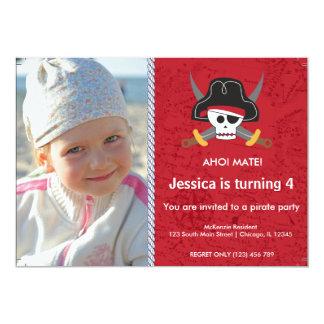 Tema del pirata anuncio personalizado