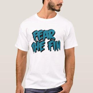 Tema el logotipo de la aleta (el trullo) camiseta