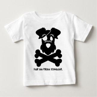 Tema el Schnauzer del pirata Camiseta