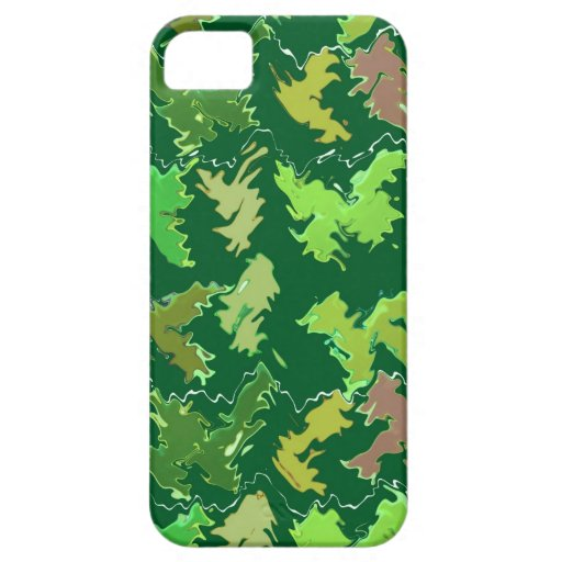 Tema verde: Los militares camuflan el modelo de on iPhone 5 Protector