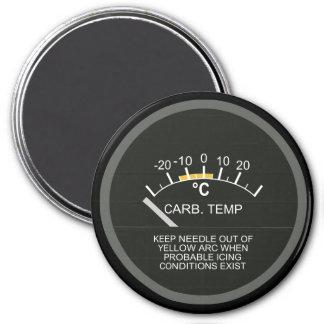 Temperatura del aire de Carburator para los frikis Imán