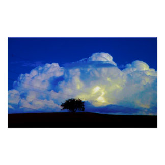Tempestad de truenos póster