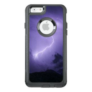 Tempestad de truenos púrpura en la noche funda otterbox para iPhone 6/6s