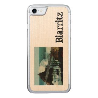 Tempête del La de Biarritz Francia LA TEMPESTAD Funda Para iPhone 7