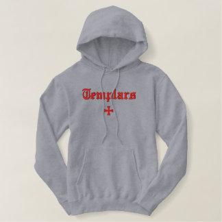 Templar bordó sudadera con capucha