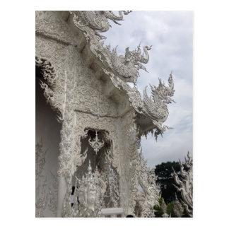 Templo blanco postal