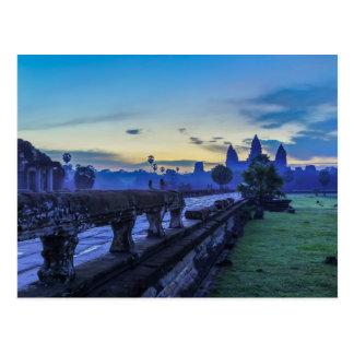 Templo de Angkor Wat - postal de Camboya