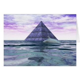 Templo de la Atlántida del delfín Tarjeta De Felicitación