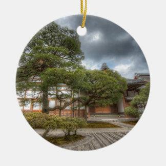 Templo de plata de Ginkaku-ji, Kyoto Japón Ornamento Para Reyes Magos