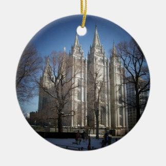 Templo de Salt Lake Adornos De Navidad