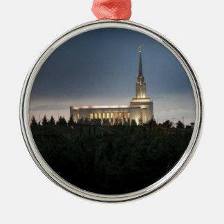 templo de Utah de los lds de la montaña del oquirr Adorno De Navidad