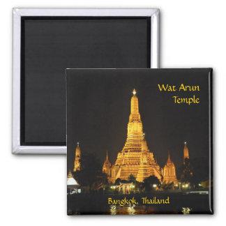 Templo de Wat Arun en Bangkok Imán De Nevera