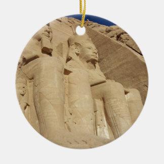 Templo Egipto de Abu Simbel Adorno Para Reyes