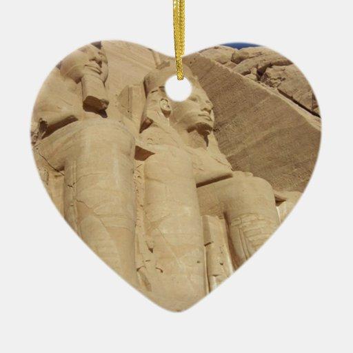 Templo Egipto de Abu Simbel Adorno