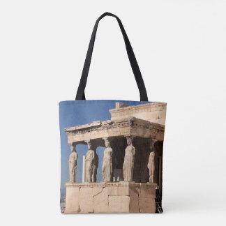 Templo griego bolsa de tela