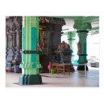 Templo hindú de Chettiar, capilla central Tarjeta Postal