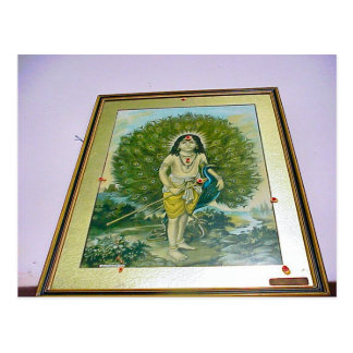 Templo hindú de Chettiar, pintura de Rama Postal