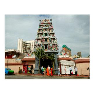 Templo hindú postal