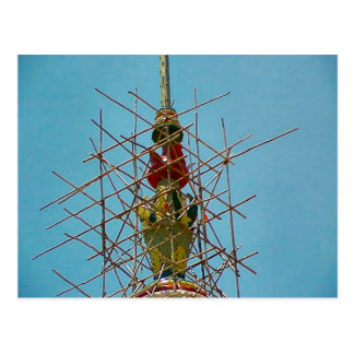Templo hindú, reparaciones a la decoración postal