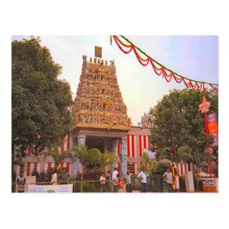 Templo hindú, un día a celebrar postal