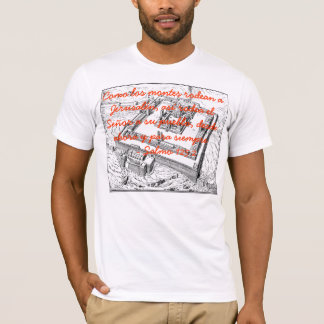 Templo Jerusalén Grupo Alabanza (Hombre) Camiseta