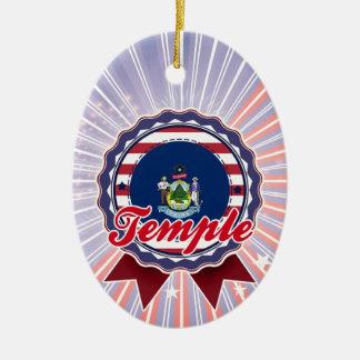 Templo, YO Ornamentos De Navidad