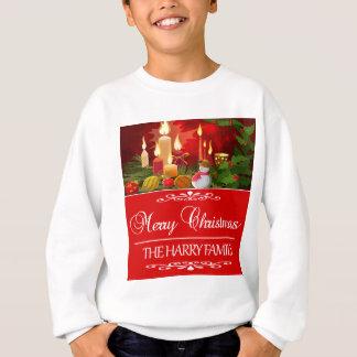 Tender diseño del navidad de la familia de Harry Sudadera