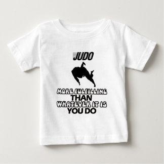 Tender DISEÑOS del judo Camiseta De Bebé