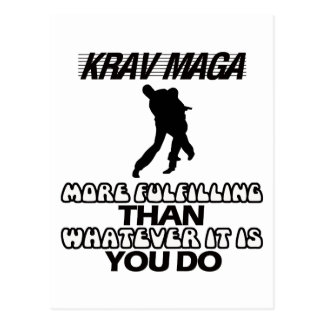 Tender los DISEÑOS de Krav Maga Postal