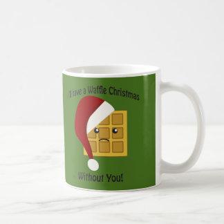 Tendré navidad de una galleta sin usted taza de café