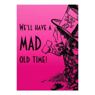 ¡Tendremos un de antaño enojado! (Sombrerero enoja Comunicado Personalizado