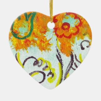tendrils adorno de cerámica