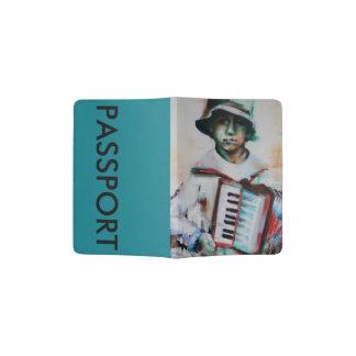 """Tenedor """"Accordion del pasaporte Portapasaportes"""