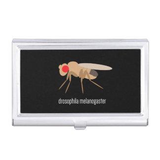 Tenedor de la tarjeta de visita de la Drosophila Caja De Tarjetas De Presentación