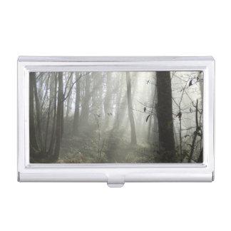 Tenedor de la tarjeta de visita de la niebla de la caja de tarjetas de presentación