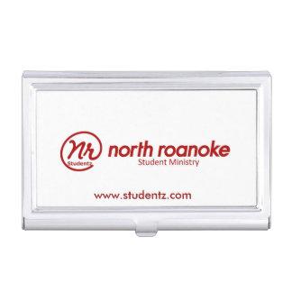Tenedor de la tarjeta de visita de NR Studentz Caja De Tarjetas De Presentación