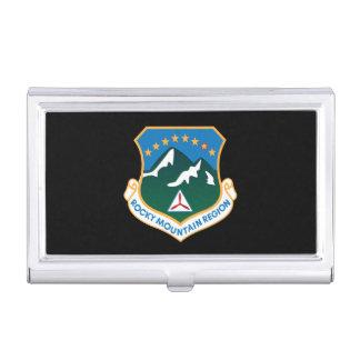 Tenedor de la tarjeta de visita del CASQUILLO de Caja De Tarjetas De Visita