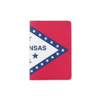 Tenedor del pasaporte de la bandera del estado, portapasaportes