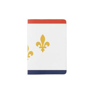 Tenedor del pasaporte de la bandera, New Orleans Portapasaportes