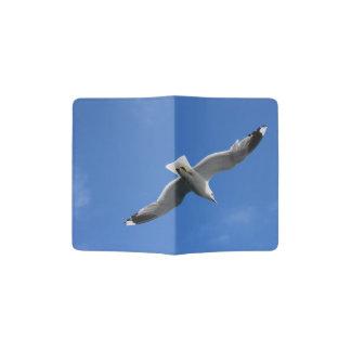Tenedor del pasaporte de la gaviota porta pasaportes