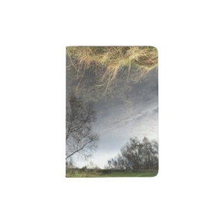 Tenedor del pasaporte del arte del árbol de la portapasaportes