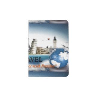 Tenedor del pasaporte del viaje de los portapasaportes