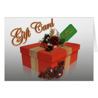 Tenedores del dinero de la tarjeta de Navidad