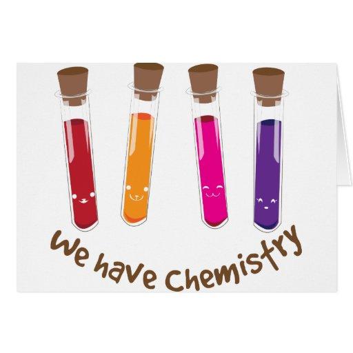 Tenemos química felicitación