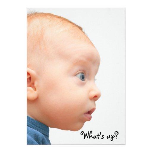 ¡Tenemos una niña! Comunicados Personalizados