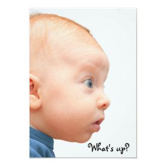 ¡Tenemos una niña! Invitación 12,7 X 17,8 Cm