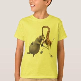 Tenencia de Gloria y de la mano de Melman Camiseta