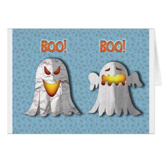 Tenga cuidado para la tarjeta sobria de Halloween